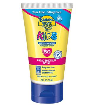 Banana Boat Kids Sunscreen Lotion SPD50PA++++ (90ml) (Sunblock)