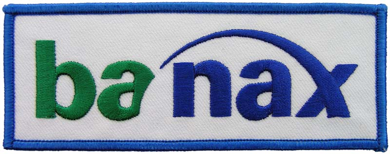 BANAX FISHING SPORTS EMBROIDERED PATCH