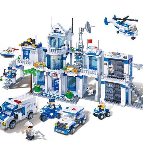 Lego City Police Station Instructions 2017