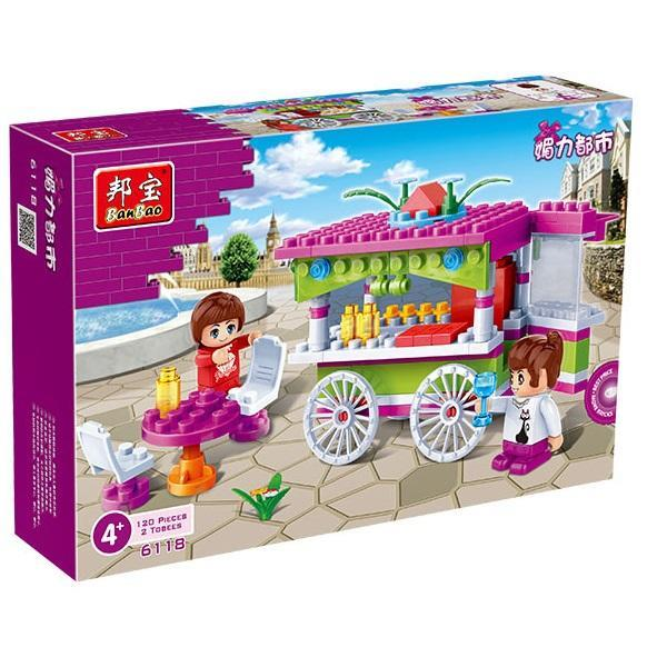 Banbao Girls Snack Car (Lego Brick Compatible)