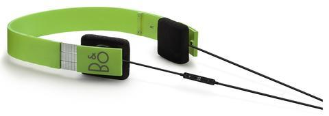 BANG & OLUFSEN B&O PLAY FORM 2I ICONIC HEADPHONES - GREEN