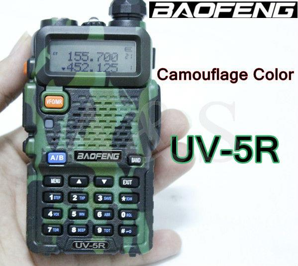 BaoFeng UV-5RA Walkie Talkie Plus Dual Band Radio handheld uhf vhf rad