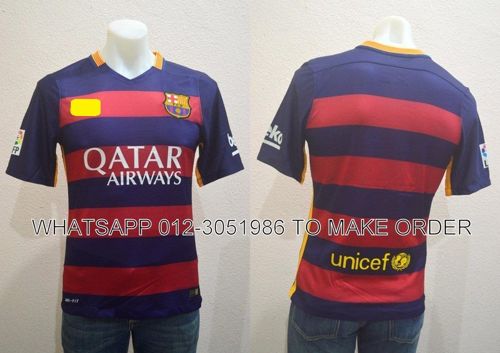 Barcelona Home 2015/2016 PI Player Jersey/Jersi