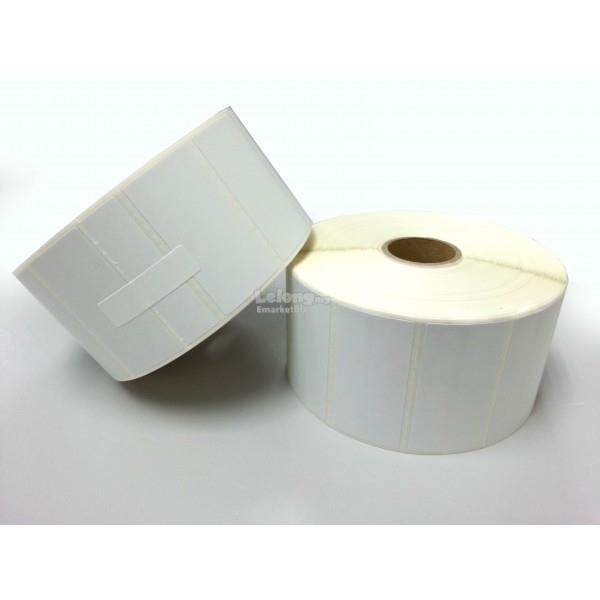Barcode Direct Thermal Label (Size: 50mm x 25mm)