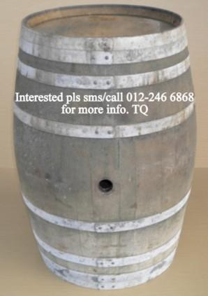 Used barrels / drums