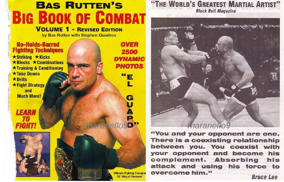 Bas rutten big book of combat