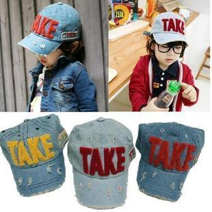 TAKE Baseball Cap for Kids/Children