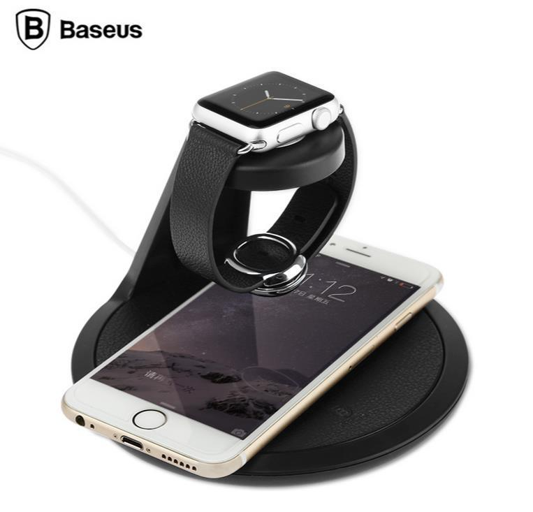 Baseus Apple Watch iPhone 6S Plus Charging Station Stand Case Cover