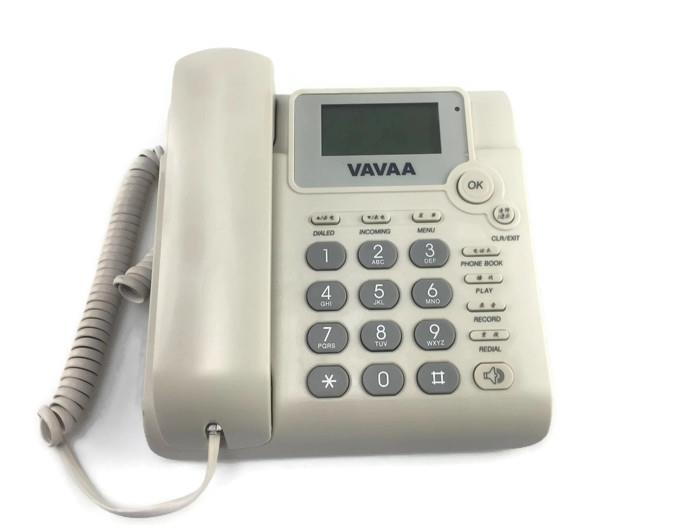 Basic Telephone with Voice Recording
