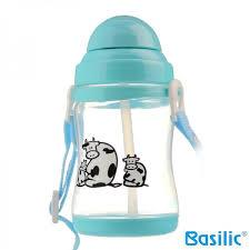 Basilic: PP Water Bottle 450ml/15oz - 1pc