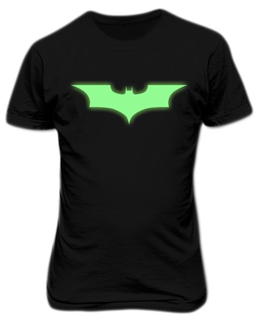 Batman Begins Symbol Glows In The Dark T-shirt