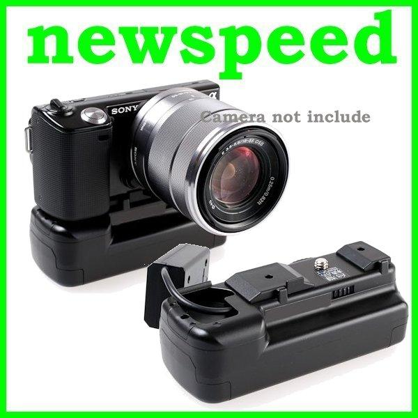 New Battery Grip for Sony NEX5 NEX3 NEX-5 NEX-3 Battery Grip Blk