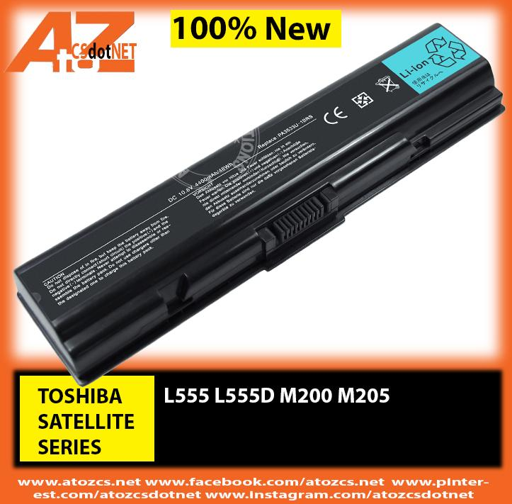 Battery TOSHIBA Satellite L555 L555D M200 M205 Series