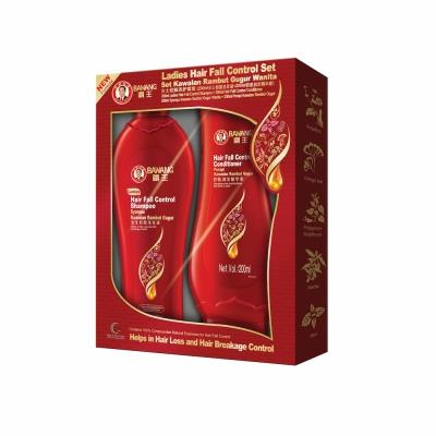 BAWANG Ladies Hair Fall Control Set (Shampoo 200ml+Conditioner 200ml)