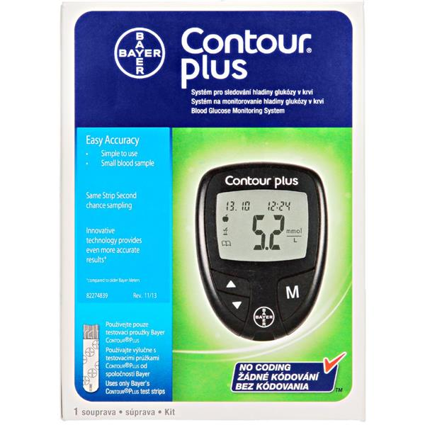 Bayer Contour Plus Blood Glucose Monitoring System