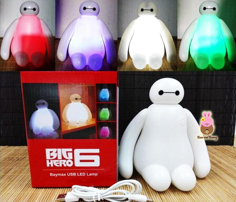 Baymax LED USB Night Lamp