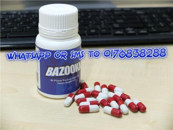 BAZOOKA PILLS - Original 60 capsule Enlargement - Made In New Zealand