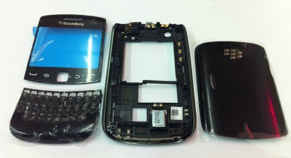 BB BlackBerry Curve 4 9360 Black Ori Housing Sparepart Repair Service