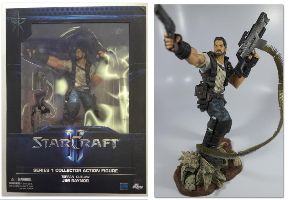 BC - DC UNLIMITED STARCRAFT - JIM RAYNOR SERIES 1 TOY - NEW