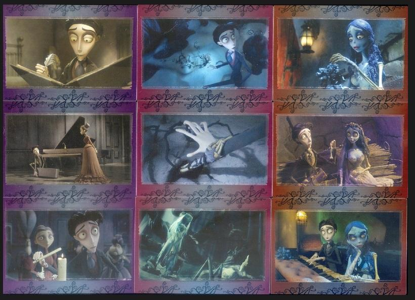 BC - MOVIE TRADING CARDS SET  - CORPSE BRIDE - 2005