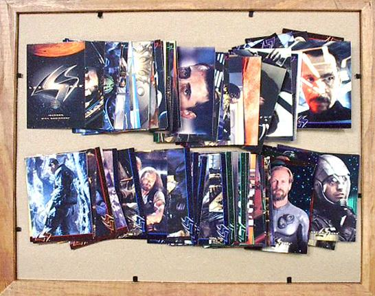 BC - MOVIE TRADING CARDS  SET - LOST IN SPACE - MOVIE (1998)