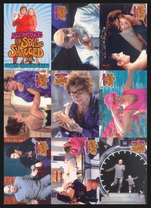 BC - TRADING CARDS  SET - AUSTIN POWERS - THE SPY WHO SHAGGED ME - 19