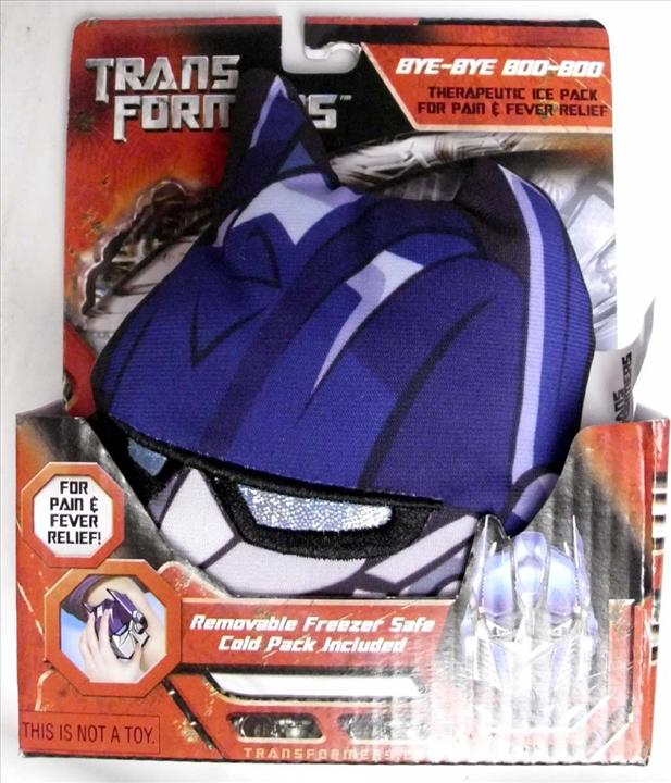 BC - TRANSFORMERS - THERAPEUTIC ICE PACK FOR PAIN & FEVER - NOT TOY
