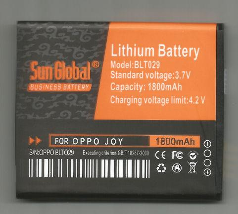 *bdl* -- Sun Global Battery Oppo Joy/BLT029