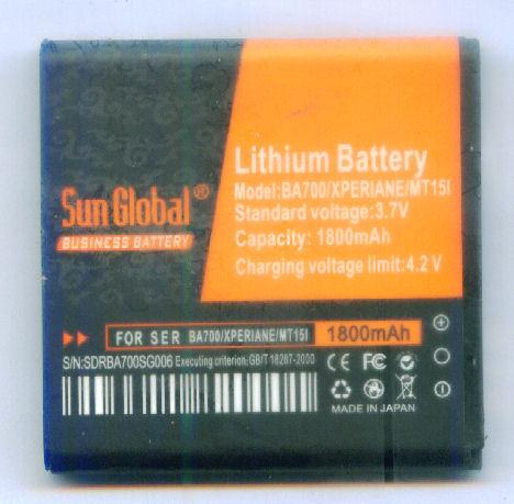 *bdl* - Sun Global Battery SonyErcsson Xperia Pro/Neo/Ray/BA700