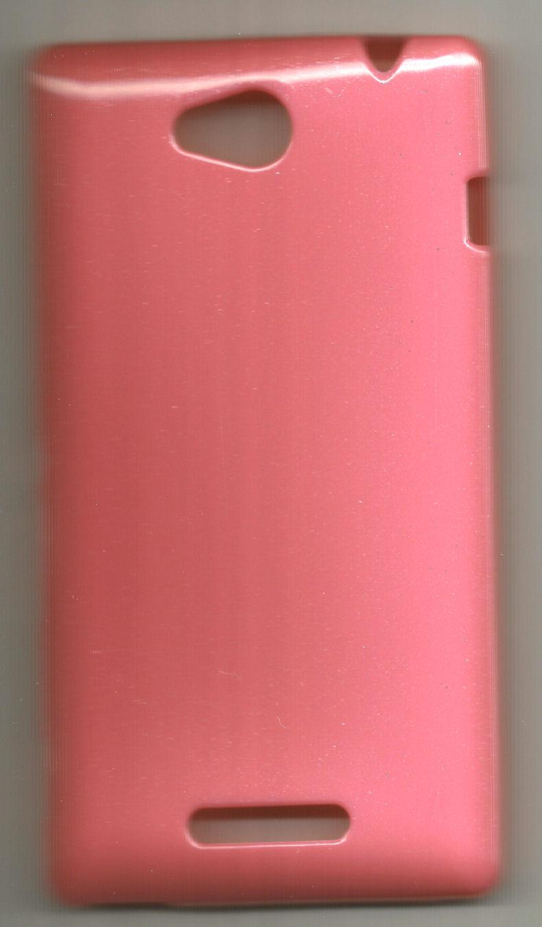 *bdl* -- TPU Case - Sony Xperia C (Pink) for Auction **
