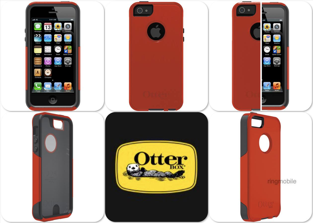 Bdotcom = Apple iPhone 5 5s OtterBox Commuter Series Case = Bolt