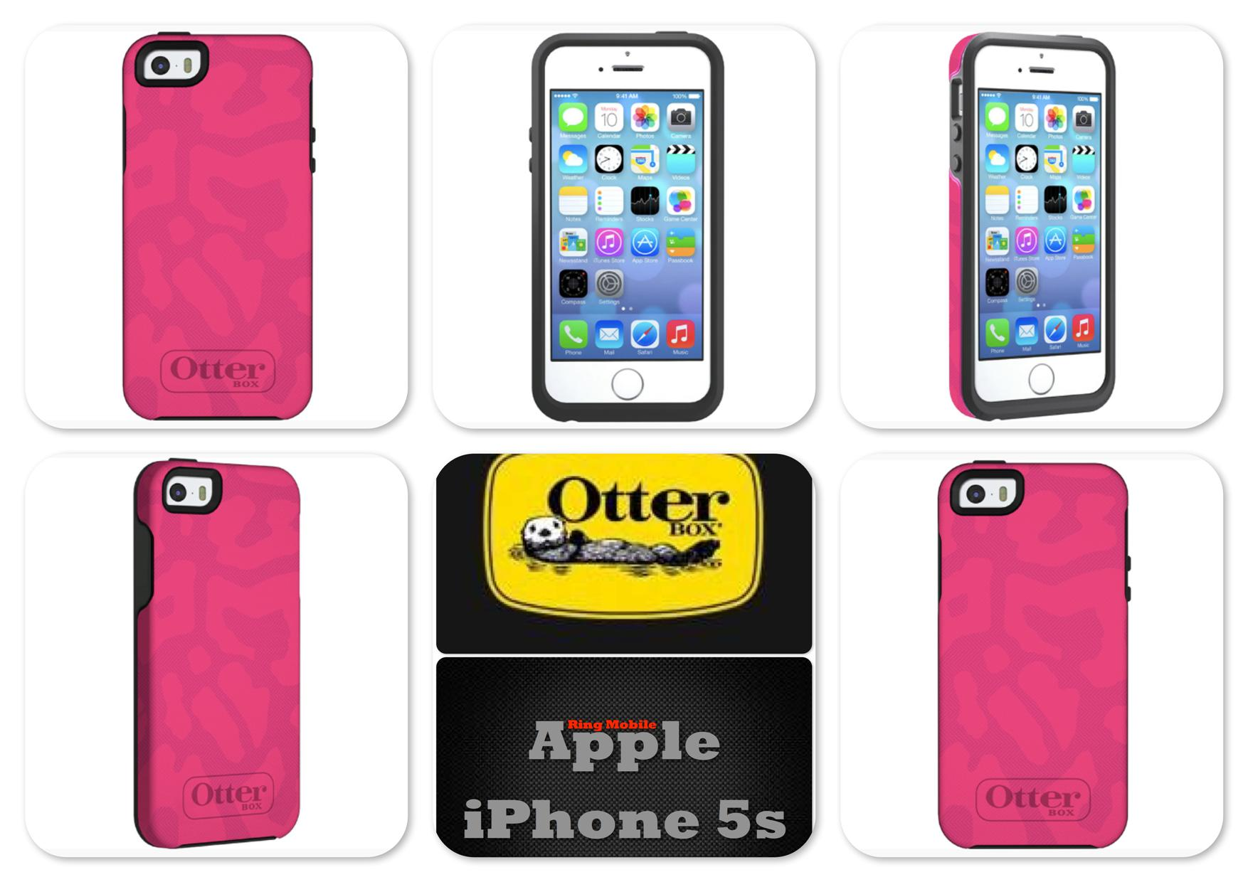 Bdotcom = Apple iPhone 5 / 5s Otterbox Symmetry Series @ Cheetah Pink