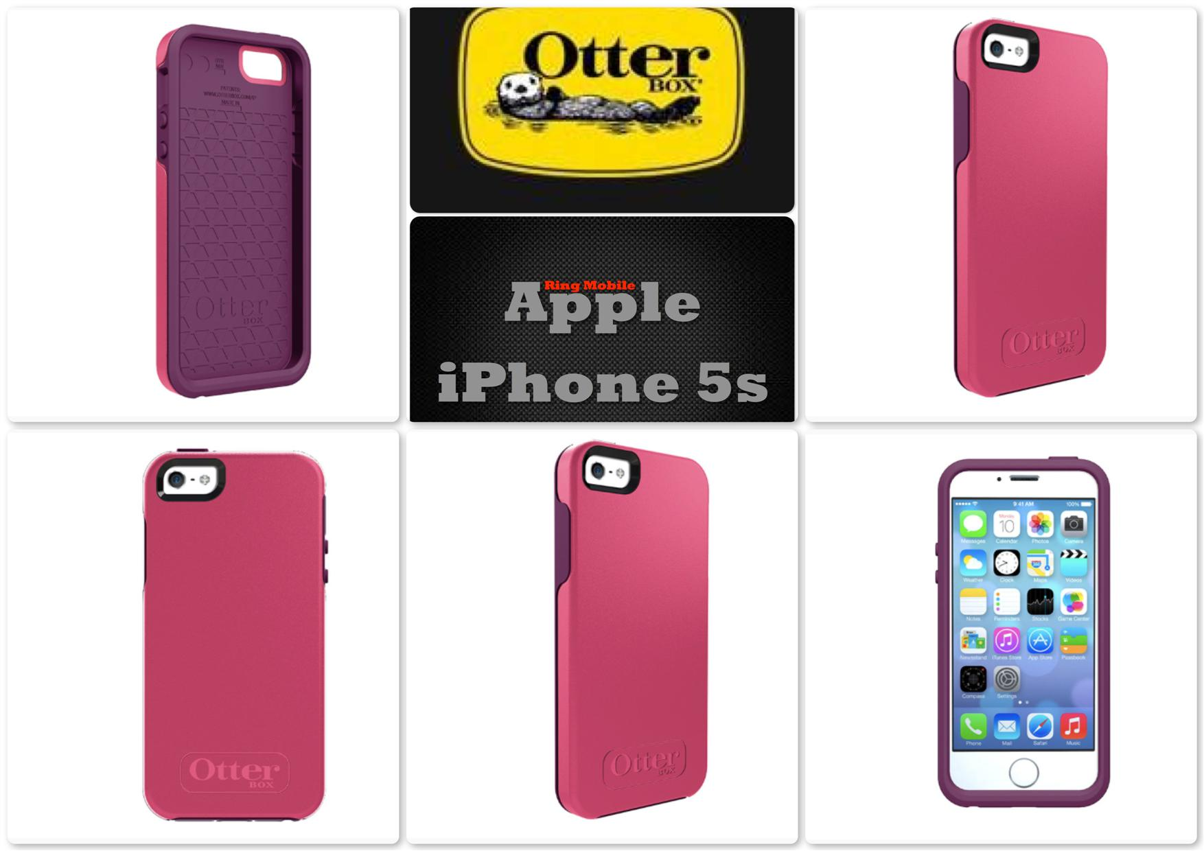 Bdotcom = Apple iPhone 5 5s Otterbox Symmetry Series @ Crushed Damson