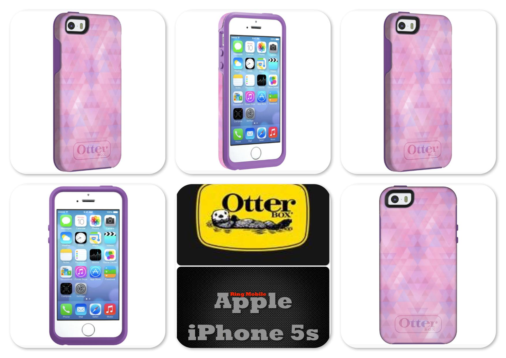 Bdotcom = Apple iPhone 5 / 5s Otterbox Symmetry Series @ Dreamy Pink