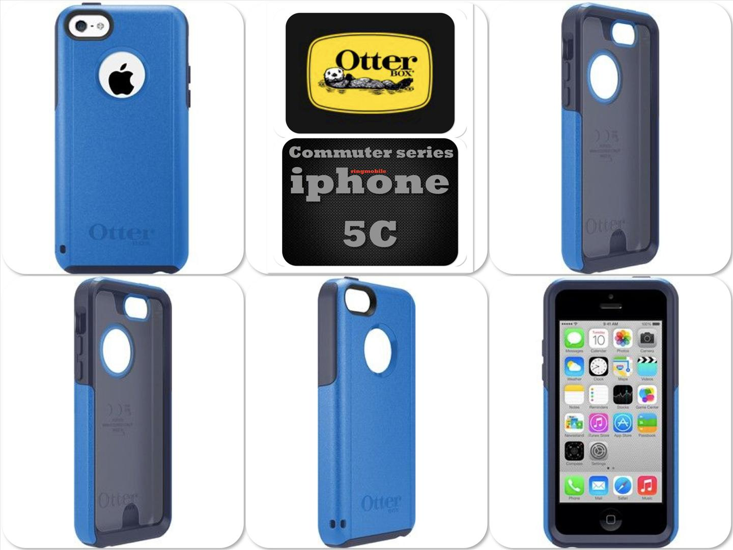 Bdotcom = Apple iPhone 5c OtterBox Commuter Series Case = Surf