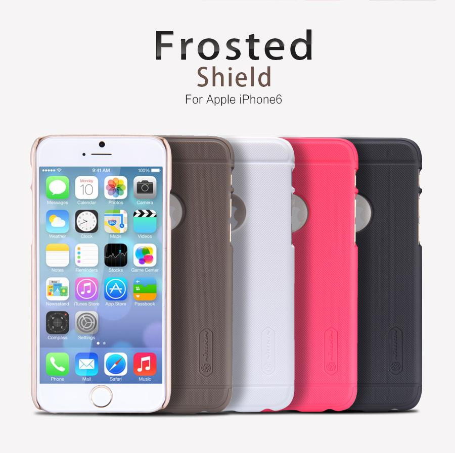 Bdotcom = Apple iPhone 6 4.7' Nillkin Super Frosted Shield Sand Case