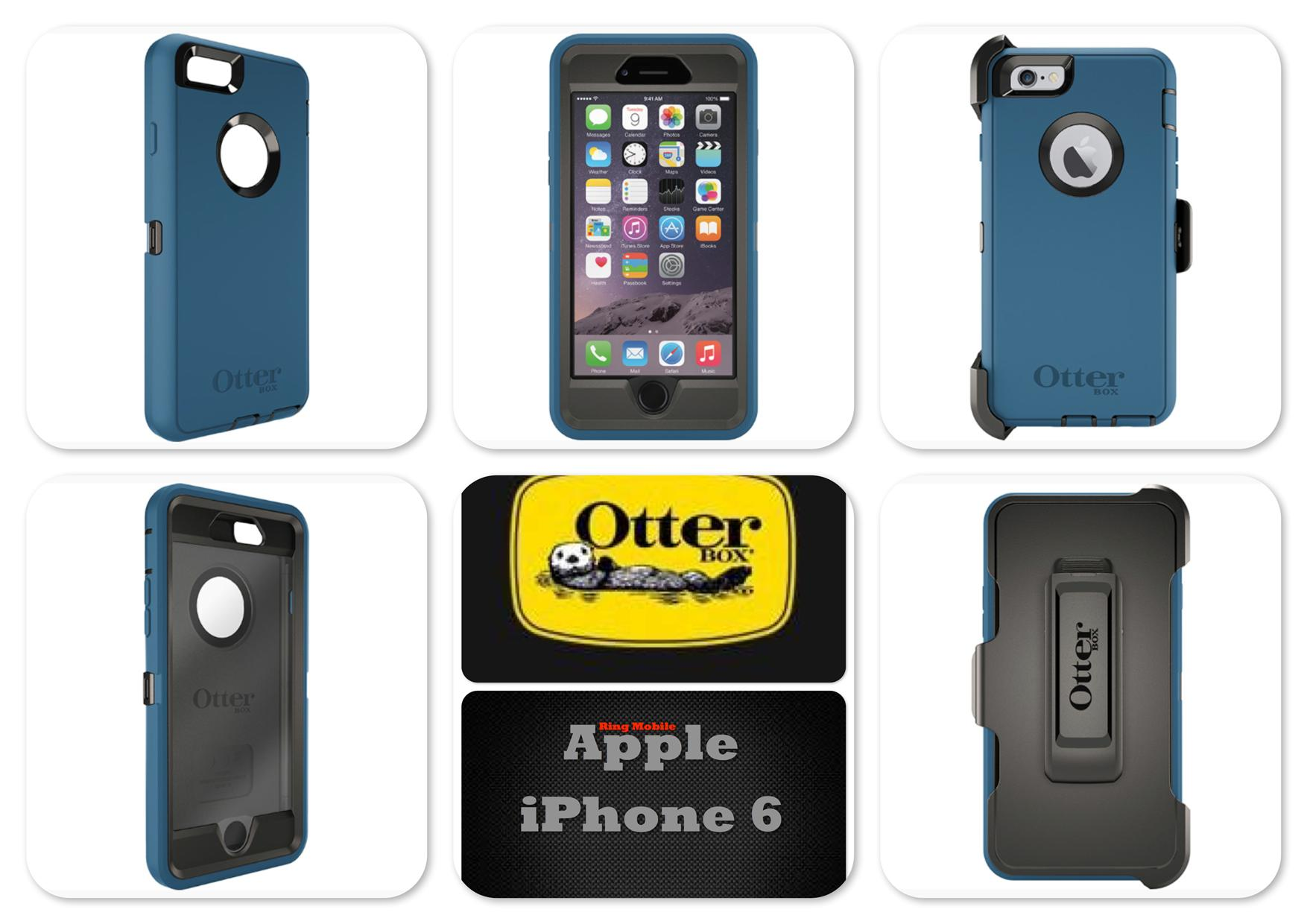 "Bdotcom = Apple iPhone 6 4.7"" Otterbox Defender Series Case Ink Blue"