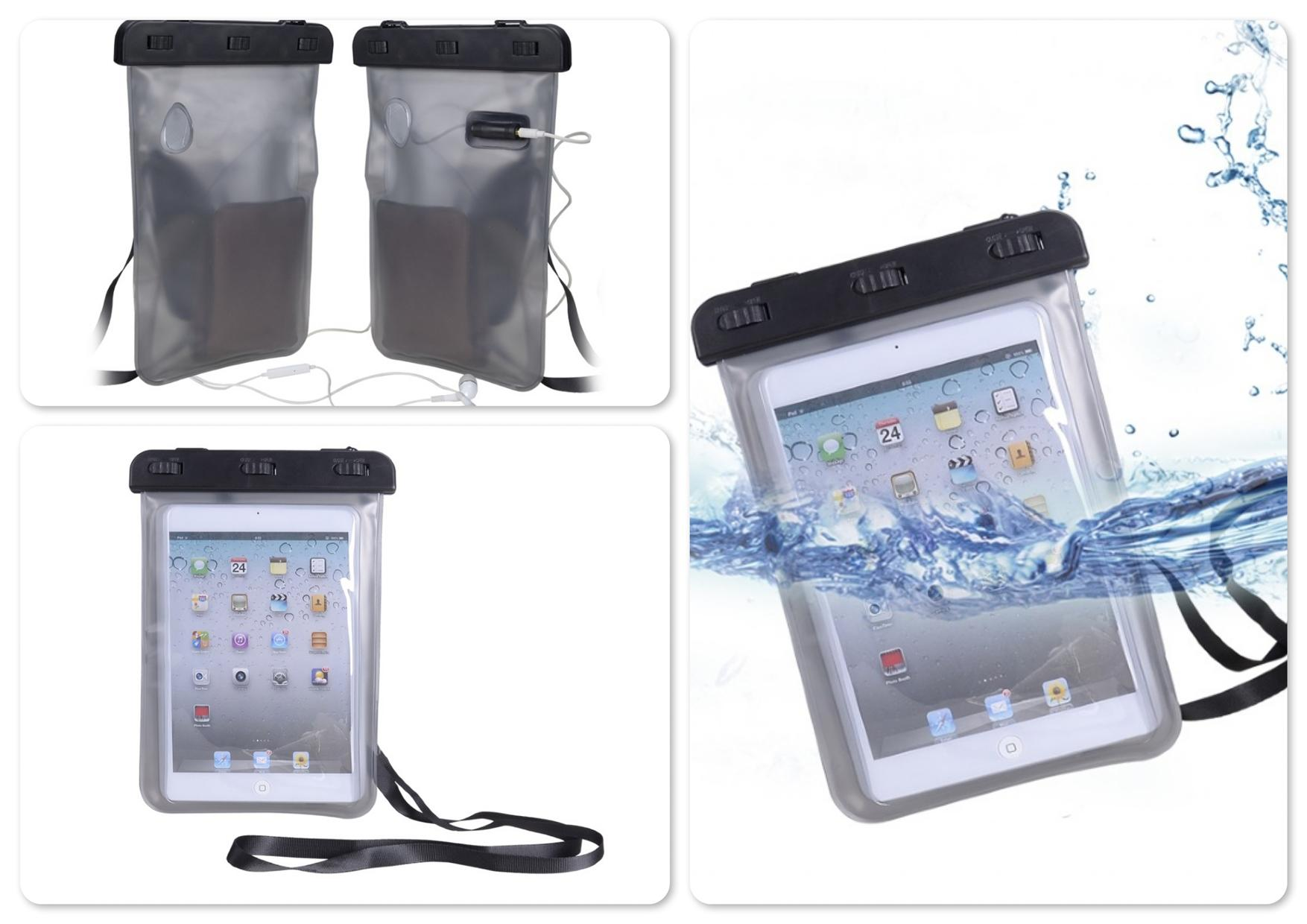 Bdotcom = Avantree KSWP-005 Waterproof Bag for 7' 8' Tablet - Dolphin