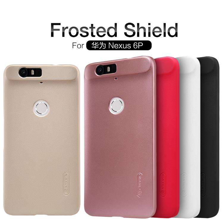 Bdotcom = Huawei Nexus 6P Nillkin Super Frosted Shield Cover Sand Caae