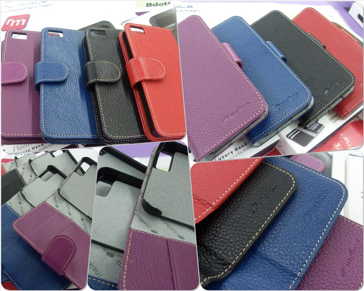 bdotcom = iphone 5 melkco wallet book type leather case =