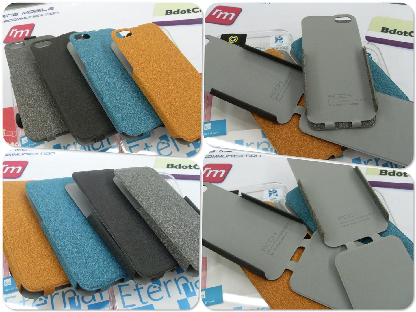 bdotcom = iphone 5 Rock flip leather case Eternal series =