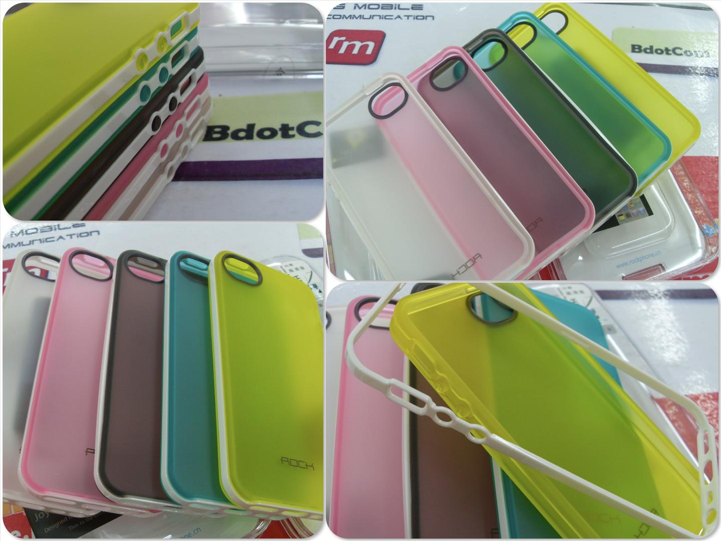 bdotcom = iphone 5 Rock silicon case joyful free series =