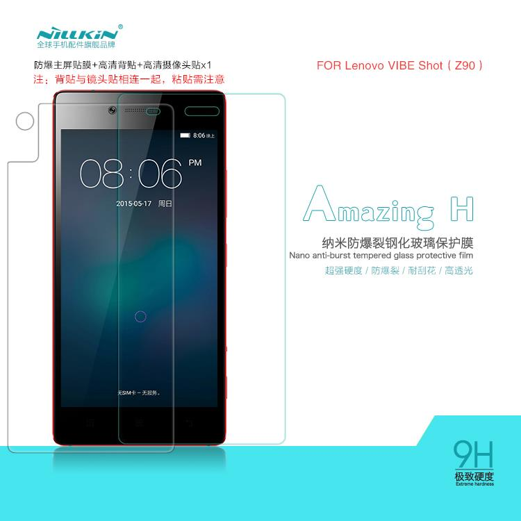 Bdotcom = Lenovo Vibe Shot Z90 Nillkin Anti Explosion H Tempered Glass