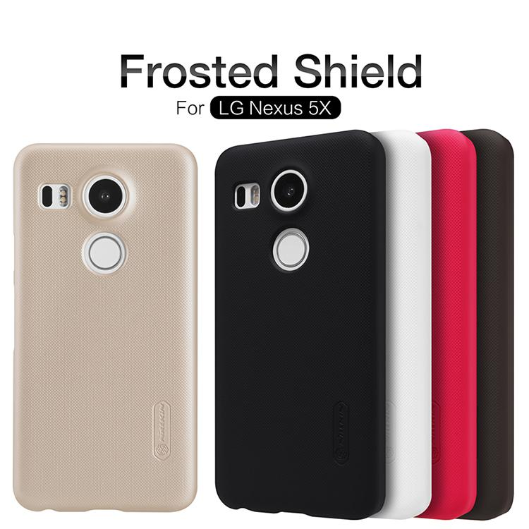 Bdotcom = LG Nexus 5x Nillkin Super Frosted Shield Cover Sand Case