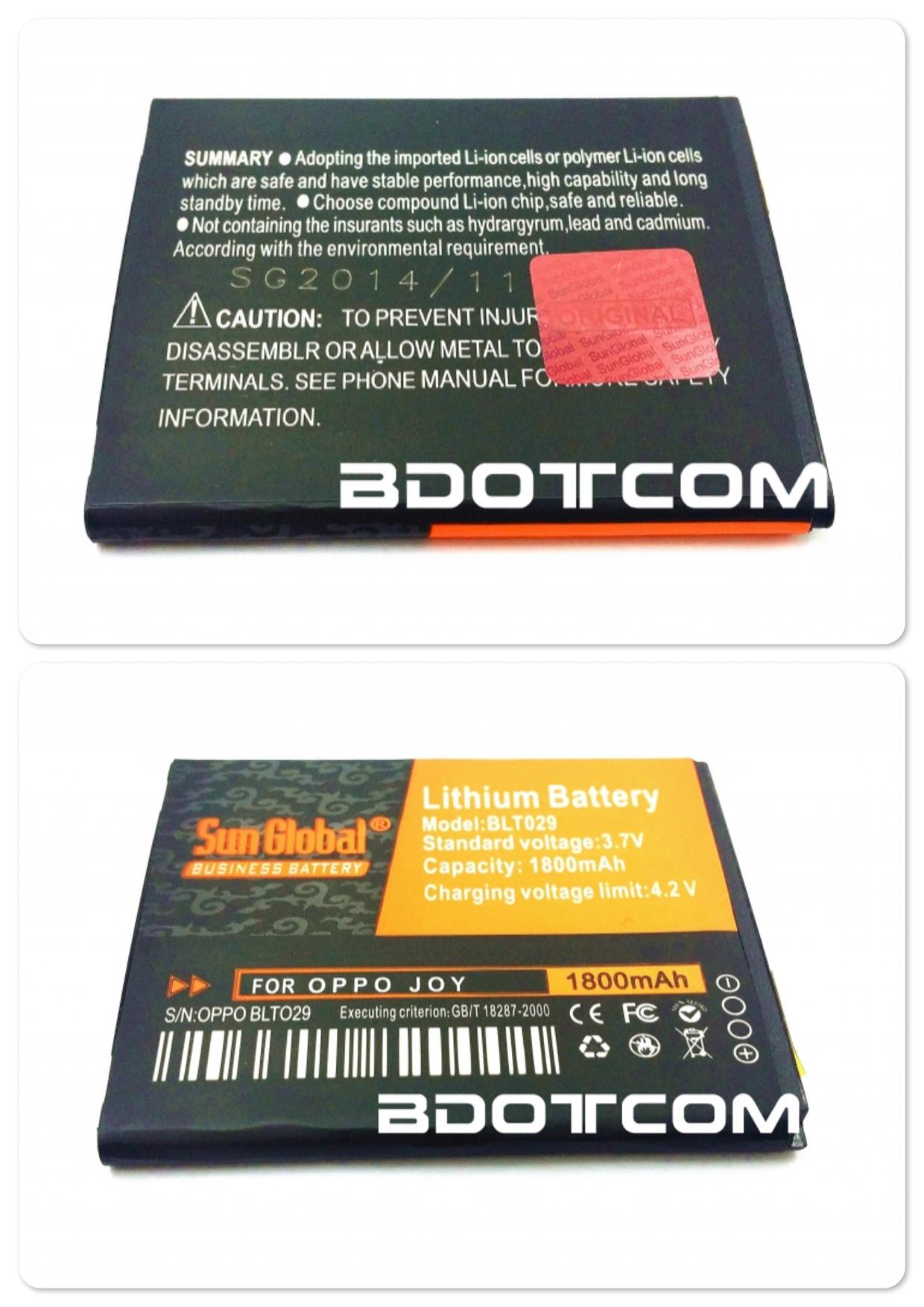 Bdotcom = Oppo Joy Sun Global Battery 1850 mAh