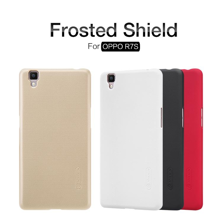 Bdotcom = Oppo R75 Nillkin Super Frosted Shield Cover Sand Case