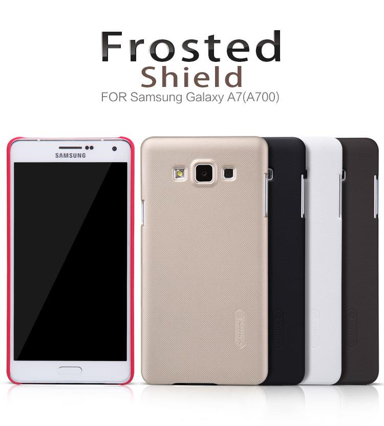 Bdotcom = Samsung Galaxy A7 Nillkin Super Frosted Shield Sand Case