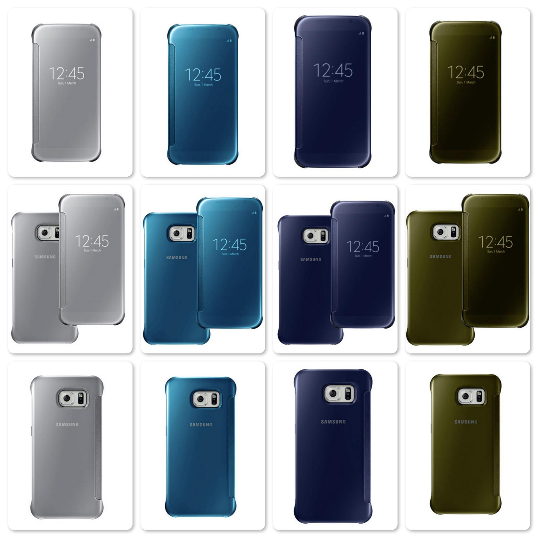Bdotcom = Samsung Galaxy S6 Clear View Cover Case = Original