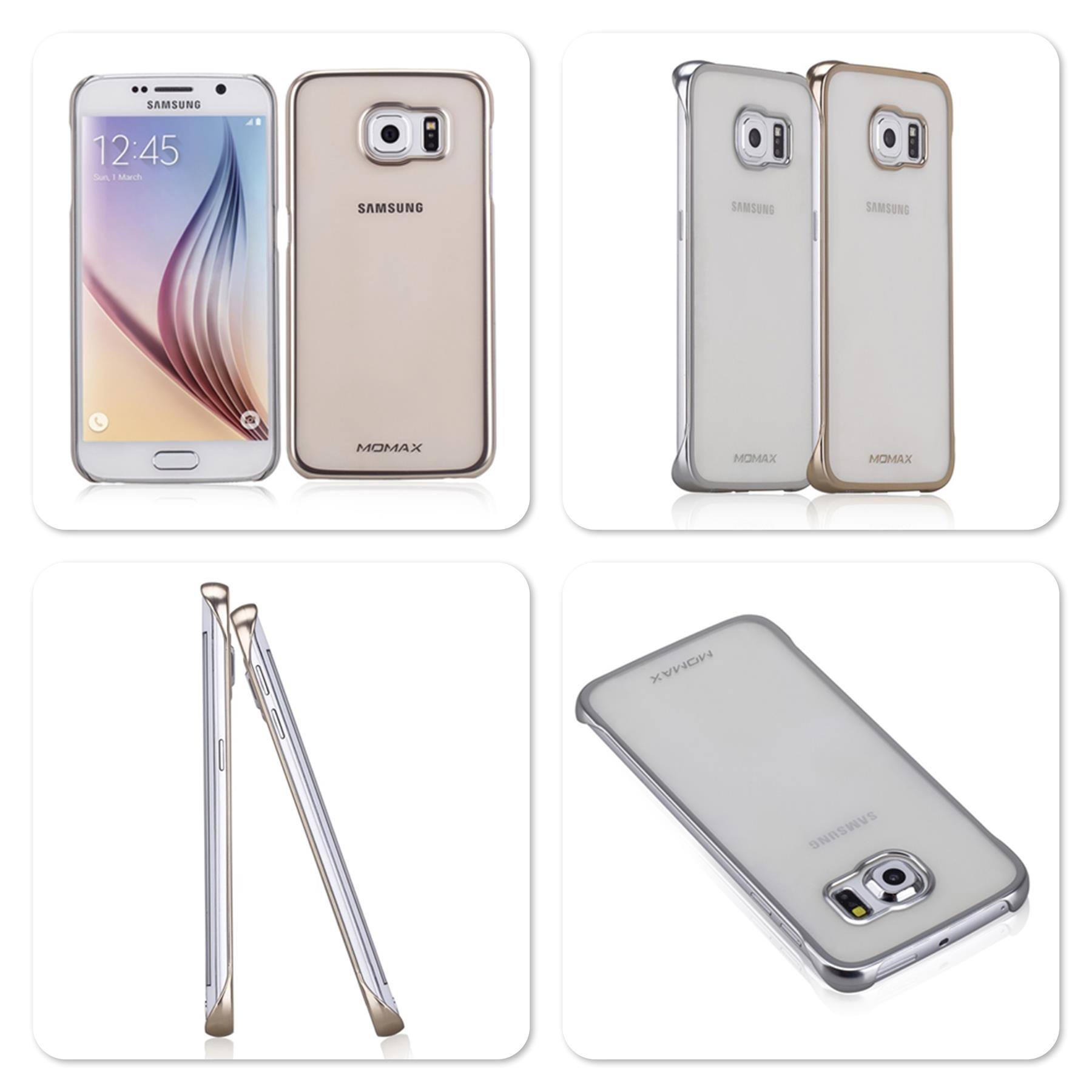 Bdotcom = Samsung Galaxy S6 Edge Momax Splendor series Clear Cover