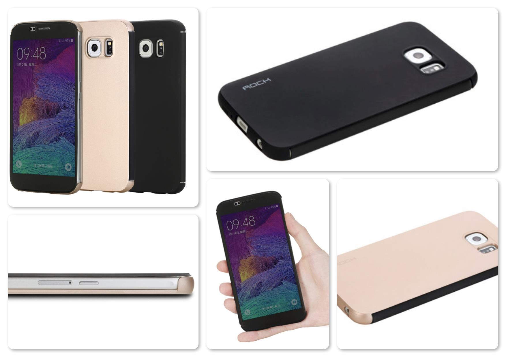 Bdotcom = Samsung Galaxy S6 Rock Dr V Series Smart Leather Case